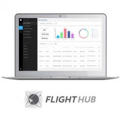 Software avanzado DJI FlightHub para administrar drones seleccionados (1 mes)